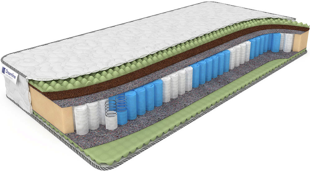 Матрас Dreamline Mix Foam Smart Zone