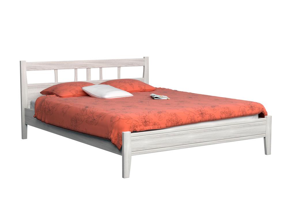 Дисконт (товар с уценкой) Кровать Dreamline Лагуна 1 бук-слоновая кость 90х190