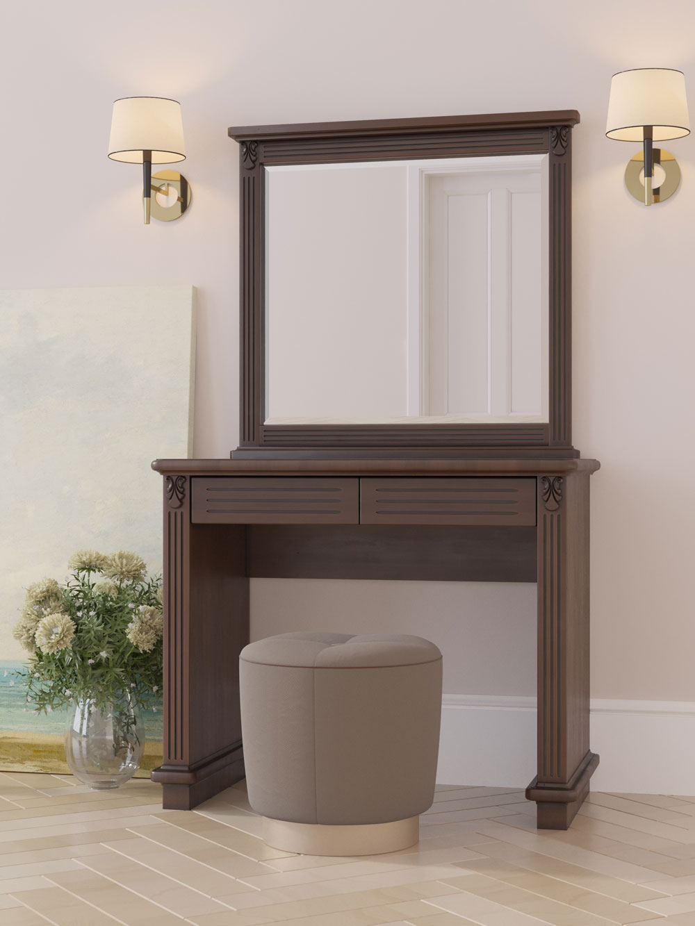 Стол Dreamline туалетный Палермо Light