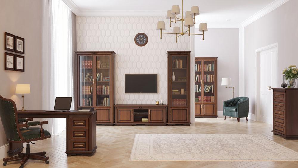 библиотека Палермо 2-х створчатая